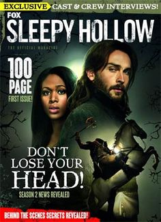 The official Sleepy Hollow magazine is here! Revealing all the secrets behind the hit Fox show based on Washington Irving's classic story, you can enjoy exclusive interviews with the cast including Tom Mison, aka Ichabod Crane himself! Plus, the crew brings you the lowdown on how the show is put together, and share exclusive artwork and more! It's all here, beginning with this 100-page first issue, full of stunning photography and facts about Ichabod Crane, his friends and enemies. Don't ...