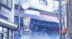 Risultati immagini per anime scenery gif Anime Gifs, Manga Anime, Anime Art, Daegu, Anime Snow, Snow Gif, Anime Kunst, Episode Backgrounds, Art Drawings For Kids