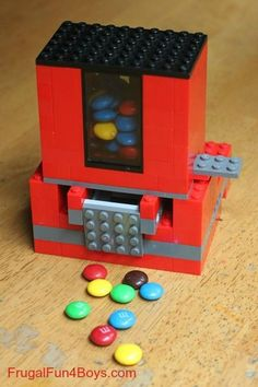 Légo : distributeur bonbon
