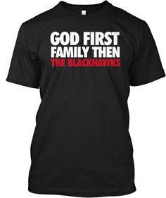 God, Family, Blackhawks
