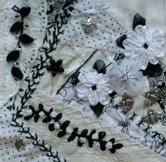 CRAZY QUILTING INTERNATIONAL: Black and White RR
