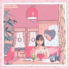 29 Ideas for digital anime art wallpaper Art Et Illustration, Character Illustration, Pretty Art, Cute Art, Aesthetic Art, Aesthetic Anime, Art Kawaii, Character Art, Character Design