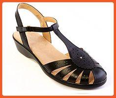Easy Spirit Ramanda Comfort Slingback Sandals (5.5, Black) - Sandals for women (*Amazon Partner-Link)