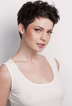 The best collection of Short Curly Pixie Haircuts latest and best short curly pixie hairstyles, short curly hairstyles 2018 Short Curly Pixie, Curly Pixie Hairstyles, Short Hairstyles For Thick Hair, Haircuts For Curly Hair, Very Short Hair, Short Pixie Haircuts, Short Hair Cuts, Curly Hair Styles, Pixie Cuts