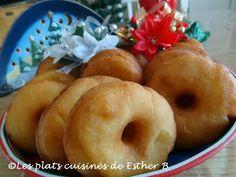 Les plats cuisinés de Esther B: Beignes aux patates Beignets, Churros, Egg Free, Esther, Doughnuts, Bagel, Pop Tarts, Sweet Recipes, Biscuits