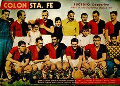 Equipos de fútbol: COLÓN 1952