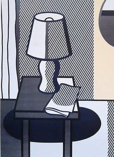 Still Life with Table Lamp, Offset Lithograph, Roy Lichtenstein – Art Commerce