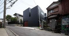 black-japanese-house