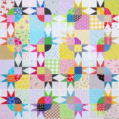 PLEASE READ THE LISTING DETAILS CAREFULLY. This listing is for templates and a foundation paper piecing pattern to make the two patchwork blocks that make up this quilt ~ a Drunkards Path Block and a Quarter Star Block. Use these templates and the foundation paper piecing pattern in conjunction with step by step tutorial available on my blog to successfully complete the Pickle Dish Variation Quilt: http://www.redpepperquilts.com/2015/06/pickle-dish-variation-quilt-pa...