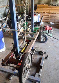 homemade sawmill plans - Google Search