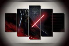 Darth Vader -Sith 5 Piece Canvas