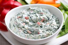 Spinach Dip with Philadelphia Cream Cheese