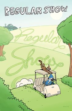 REGULAR SHOW #11 Number of Issues/Volumes in Series: Ongoing Author(s): Nick Sumida Artist(s): Alison Strejlau Cover Artist(s): A: Andy Hirsch B: Jon Morris C: Andrew Greenstone D: Laura Mueller It's a fun time for our unlikely heroes as they prepare their next day off...only this time they might find themselves doing more work than they ever planned! Join Mordecai and Rigby as they try to figure out what to do so that they can finally get a day of peace and end up somewhere totally rad!