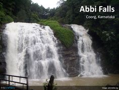 Abbi Falls, located 8 kilometres from Madikeri, descend into the Cauvery River from a height of over 70 feet. The best time to visit the waterfalls is in winter when the falls are flooded with water brought by the monsoon.