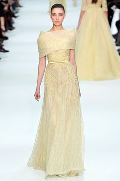 Such lusciousness in the Elie Saab Spring 2012 Haute Couture Collection. Live lusciously with LUSCIOUS: www.myLusciousLife.com