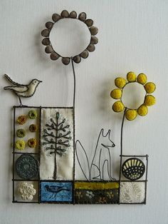 liz cooksey art | What I love about her work is the brilliant combination of elements.