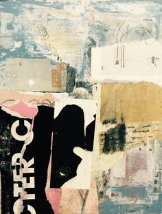 Angela Holland 2015 Mixed media on panel