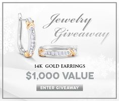 Holsted Jewelers 2017 Giveaway for Canada & US - Win Free Jewelry This month visit the Holsted Jewelers website for your chance to win a Diamond Cockta Diamond Hoop Earrings, Rose Gold Earrings, Statement Earrings, Shopping Spree, Jewels, Sweepstakes 2016, Contests Canada, Prize Giveaway, Potpourri