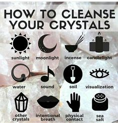 Do you know that crystals tend to absorb all the energies around and that you need to cleanse them once in a while? Here are some tips of how you can cleanse and charge your crystals: Use water. You can add sage lavender or sea salt to the water to enhan