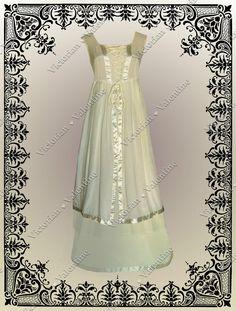 Victorian Civil War Steampunk Gothic Wedding Faerie History Corset Dress S