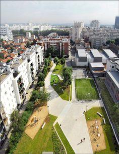 asnieres_residential_park_by_Espace_Libre_landscape_architecture_01 « Landscape Architecture Works | Landezine Landscape Architecture Works ...