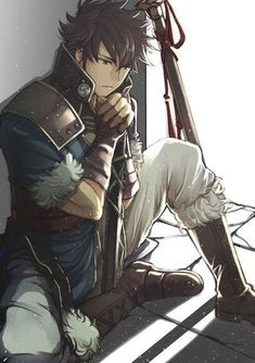 Anime Sexy, Cute Anime Guys, Anime Boys, Character Ideas, Character Design Inspiration, Character Art, Fire Emblem Characters, Dnd Characters, New Fire Emblem