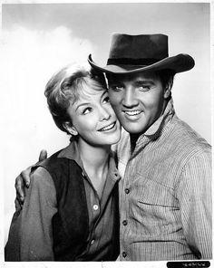 Elvis Presley & Barbara Eden