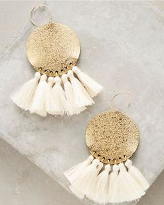 Tamboril Tassel Earrings - Gift idea for girlfriend - For that stylish girl, these Tamboril Tassel Earrings are the best gift for her! - $54.00