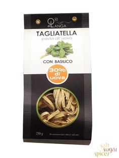 Tagliatelle con Basilico http://www.salt-sugar-spices.gr/products/GR/item/ZYMARIKA/ALMYRA_TROFIMA/GASTRONOMIAS/TALIATELLES_ME_AYGA___BASILIKO