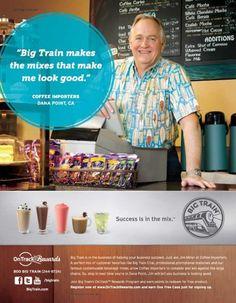 """Big train makes the mixes that make me look good."""