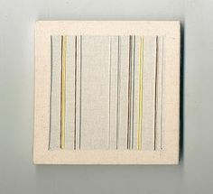Melanie O'Brien | nylon thread on cotton canvas | artwork original size 145mm x 145mm University College Dublin, Woven Image, Canvas Artwork, Cotton Canvas, The Originals, Design, Art On Canvas