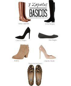 Seven wardrobe basics to have. Pretty Shoes, Cute Shoes, Me Too Shoes, Minimalist Shoes, Minimalist Wardrobe, Wardrobe Basics, Capsule Wardrobe, Shoe Basics, Professional Wardrobe