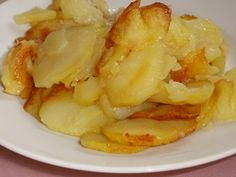Картошка жареная кружочками