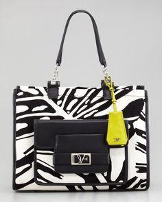 Lola Printed Canvas Tote Bag - Lyst