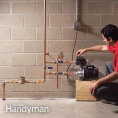 Boost Low Water Pressure in Your House | The Family Handyman