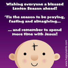 Happy Saints: Ash Wednesday