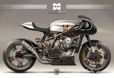 Triumph Cafe Racer, Cafe Racer Motorcycle, Motorcycle Style, Motorcycle Design, Bike Design, Cafe Racer Style, Custom Cafe Racer, Brat Bike, Moto Bike