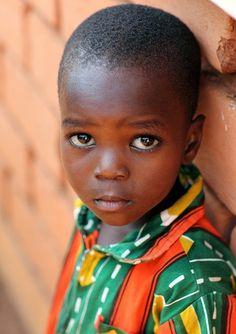 Boy in Benin...