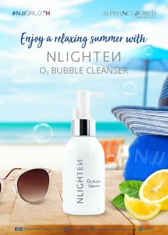 NLighten Bubble Cleanser has 12 botanical extracts that helps hydrate and rejuvenate the skin leaving it moisturized and look younger. Nlighten Products, Evening Primrose Flower, Dry Face, Eye Gel, Best Anti Aging, Dead Skin, Cleanser, Bubbles, Skin Care