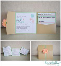 destination wedding stationery, destination wedding invitation, wedding invitation destination, coral and mint green wedding
