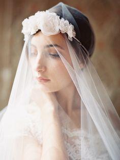 Jardin en Blanc Headband