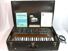 1973 MOOG MUSIC MINIMOOG MODEL D vintage analogue synthesiser