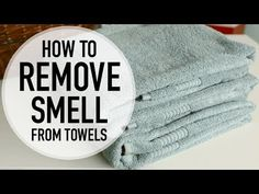 Use Vinegar to Remove Mildew Smell from Towels Get Rid Of Mold, Remove Mold, How To Remove, What Causes Mold, Mold And Mildew Remover, Mildew Stains, Cleaning Hacks, Towels, Vinegar