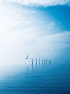 Samso, the Danish island where the residents have completely eradicated its carbon footprint by using wind power.