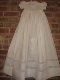 Christening gown.