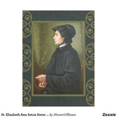Wrap up with a Rosary blanket from Zazzle! Soft & warm throws, fleece, baby blankets & more all in a huge range of designs. Discover your cozy blanket today! Elizabeth Ann Seton, Pope John, Patron Saints, Blessed Mother, New York Street, Cozy Blankets, Spiritual Life, Virgin Mary, Charity