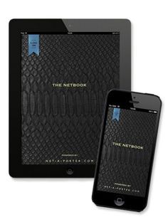 Net-a-Porter's new Social App, The Netbook | VIP invitation for fashion bloggers | #socialmedia