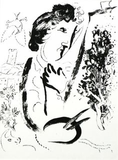 Before the Picture by Marc Chagall #marcchagall #Marc-Chagall #Chagall http://www.johanpersyn.com/blog-page/
