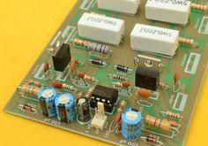 Amplificador Estereo Híbrido de 1000 Watts Ab Circuit, Circuit Diagram, Car Audio Amplifier, Wireless Speakers, Electronics Projects, Electronic Circuit Design, Iphone 6, Speaker Box Design, David Gonzalez