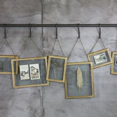 These beautiful Azizi Wall Hung Frames from Nkuku have been hand forged from brass and adorned with an exquisite decorative pattern. Window Ledge Decor, Wall Hanging Photo Frames, Glass Picture Frames, Hanging Photos, Frames On Wall, Photo Hanging, Wall Decor, Wall Art, Frame Display